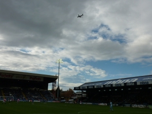 Plane spotting at Edgeley Park!