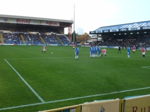 Demetriou fires in a free-kick