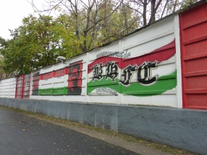 More artwork at the Bozsik Stadion