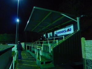 The more modern seating stand at Coleshill